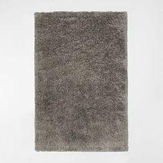 Macri Shag Rug - Silver #westelm For guest room nook