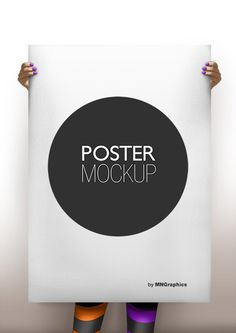 Potser Mockup Template by MNGraphics