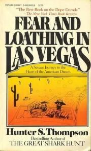 """One of the latest books I've read was Fear and Loathing in Las Vegas and if you enjoy a book with characters on all forms of drugs """"searching for the American dream"""" then you are most def in for a treat. Plus after reading it you'll be able to follow the movie clearer if you've never really got it."""