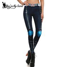 [You're My Secret] Fashion Leggings Women Steampunk Star Wars Mujer leggin Women Mechanical Gear 3d Print Cosplay Wholesale