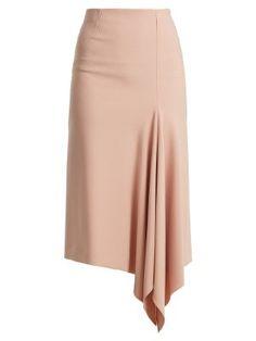 57 Ideas for sewing skirts pencil fit Fashion Line, 70s Fashion, Korean Fashion, Fashion Outfits, Skirt Outfits, Dress Skirt, Midi Skirt, Elegante Y Chic, Crepe Skirts