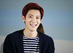 His bright smile
