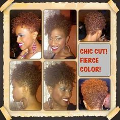 Funky hair!! Love it!!