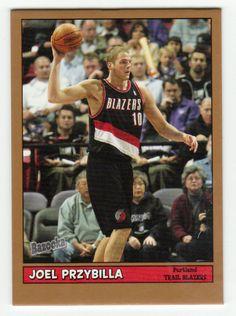 Joel Przybilla # 152 - 2005-06 Topps Baz Basketball Gold