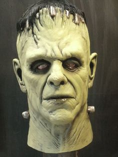 my Fankenstein Mask sculpt by Justin Mabry