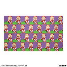 Santa's Little Elf Fabric