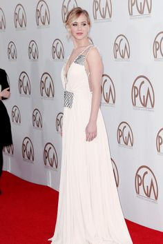 Jennifer Lawrence attends the Producers Guild of America Awards Jan 24th, 2015