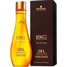 Schwarzkopf Professional BC Bonacure Oil Miracle Finishing Treatment - Óleo de Argan 100ml