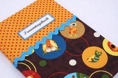 Traumtagebuch Tiere kariert von Sweet Homemade Things by christina prinz auf DaWanda.com