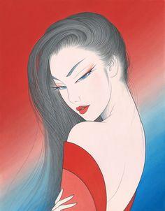 """ICHIRO TSURUTA  """"Я хочу нарисовать свою собственную   Музу,  свою  богиню"""". . Обсуждение на LiveInternet - Российский Сервис Онлайн-Дневников"""