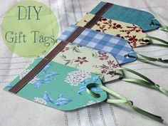How to make home made gift tages