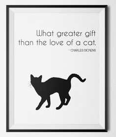 Do you love #CATS? http://etsy.me/2kVUAbD  #Etsy #Etsyshop #WallArt #HomeDecor #Printable #Quote #Inspirational #Motivational #Cheap #EtsyFinds #EtsyForAll #Stampe #Prints #Decor #EtsyHunter #etsyseller #art #black #instalove #instalike #cats #pets #cute #kitten #dickens Wonderful Wall Art Designs to Brighten your Life!