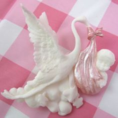 Hard Candy Molds - Silicone Mold Stork Holding Baby Hard Candy Molds, Candy Molds Silicone, Holding Baby, Welcome Baby, Chocolate Molds, Stork, Sweet Stuff, Fondant, Tutorials