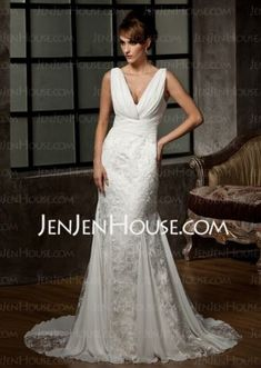 6f48711df128 Wedding dresses chiffon charmeuse 44 super ideas Wedding Dress Chiffon