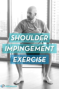 Shoulder impingement is not a fun feeling which is why I'm excited to show you this simple and effective exercise you can use to relieve your pain and ditch pinch in no time. Shoulder Injury Exercises, Rotator Cuff Exercises, Shoulder Injuries, Back Pain Exercises, Shoulder Muscles, Shoulder Stretches, Arthritis Exercises, Balance Exercises, Aerobic Exercises