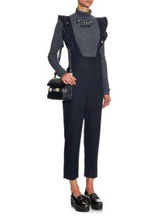 Embellished wool jumpsuit | Muveil | MATCHESFASHION.COM UK