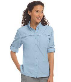 #LLBean: Misses' Tropicwear Shirt, Long-Sleeve