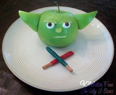 Kitchen Fun With My 3 Sons: Yodalicious Apple Snack