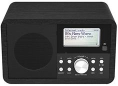 Denver IR-110 Internet Radio with DAB + Radio & FM, Woode…