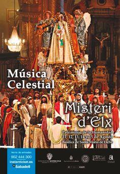 Música Celestial. Campaña publicitaria #MisteridElx 2014 realizada por @grupoanton