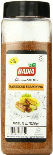 Traditional Badia Barbecue Spice, 16 Ounce, ,