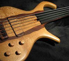 Wooden guitar