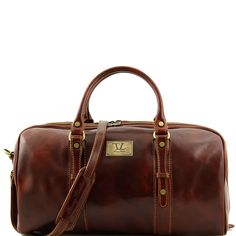 4a0229311f Buy Tuscany Leather Francoforte Brown Travel Leather Bag from S  Buckinghams. These travel luggages are shipped in 24 hours, with free uk  and fast worldwide ...