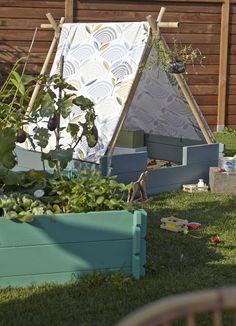 Pas-à-pas : créez un tipi pour vos enfants Outdoor Fun For Kids, Outdoor Play, Balcony Garden, Shade Garden, Play Houses, Garden Projects, Garden Inspiration, Beautiful Gardens, Home And Garden