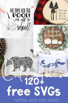 Free Silhouette Files, Cricut Svg Files Free, Christmas Fonts, Cricut Tutorials, Free Graphics, Cricut Creations, Photo Craft, Cool Diy Projects, Silhouette Projects