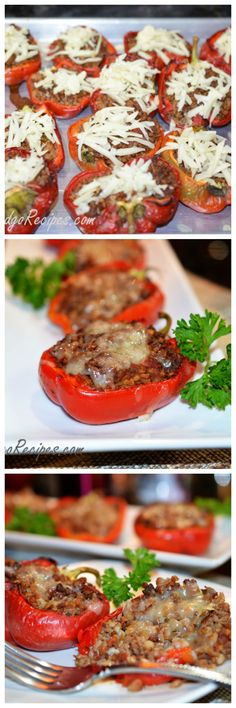 Buckwheat Stuffed Bell Pepper- Healthy dish