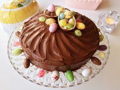 Glutenfri påsktårta med choklad