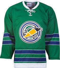e230bfa9787 California Golden Seals CCM Vintage 1967 Green Replica NHL Hockey Jersey  CoolHockey