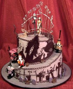 gothic wedding cake | Wedding Cakes Pictures: gothic | We Heart It