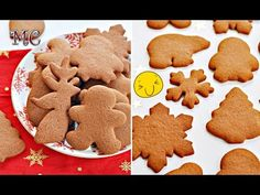 PYSZNE Pierniczki na ŚWIĘTA – Przepis – Mała Cukierenka - YouTube Gingerbread Cookies, Christmas Cookies, Healthy Cake, Cannoli, Truffles, Cookie Recipes, Baking, Food, Kitchen