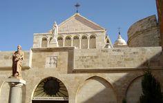 Church of St. Catherine, Bethlehem  Beautiful Stone