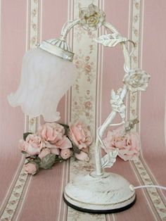 Shabby Chic ♥ Table Lamp