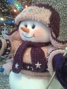 Snowman Christmas Decorations, Christmas Snowman, Christmas Crafts, Merry Christmas, Xmas, Cute Snowman, Snowmen, Sewing Crafts, Diy Crafts