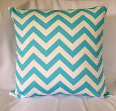 Pillow cases and Doll clothes by WengMart Blue Chevron, Handmade Pillows, Doll Clothes, Pillow Cases, Cushions, Throw Pillows, Dolls, Train, Cover