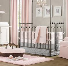 light color palette with pinks and greys