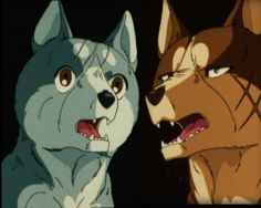 Riki and Gin Wolf People, Cat People, Anime Wolf, Manga Anime, Cartoon Wolf, Different Races, Anime Animals, Digimon, Cute Drawings