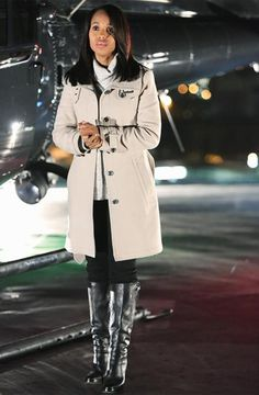 """The Reason Behind Olivia Pope's """"Slightly Off"""" Wardrobe  #InStyle"""