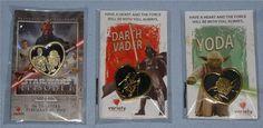 Variety 2012 Star Wars Promotion Pin: C-3PO & R2-D2 Variety 2013 Star Wars Promotion Pins: Vader & Yoda