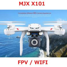 MJX X101 Quadcopter 2.4G RC drone/drone rc helicopter 6-axis gyro can add C4018 camera(FPV) vs JJRC H16 Tarantula x6 V686G - Best price in 10minus
