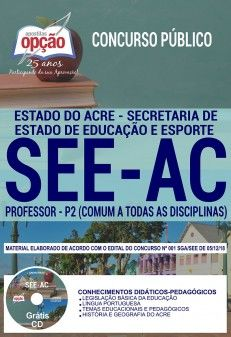 Apostila Preparatoria Concurso Secretaria De Estado De Educacao E