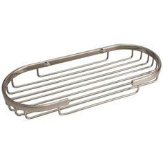 Solid Brass Oval Shower Basket