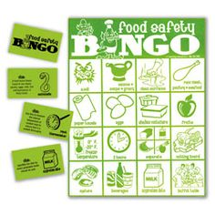 Food Safety Bingo Game