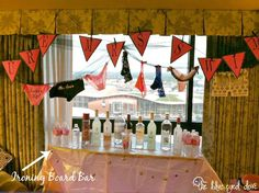 Tips for Throwing a Bachelorette Party - The Blue Eyed Dove -I love the decorations for this