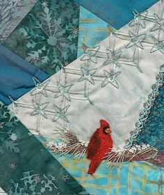 crazy quilting - beautiful and unusual