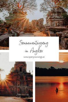Siem Reap, Angkor, Vietnam, Movie Posters, Blog, Perfect Place, Singapore, Temple, Sunset