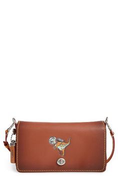 COACH 1941 COACH 1941 Dinky Rexy Leather Crossbody Bag available at #Nordstrom